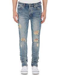 Ksubi - Van Winkle Distressed Skinny Jeans - Lyst