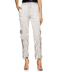 Manning Cartell - Off Duty Ruched Tech-satin Cargo Pants - Lyst