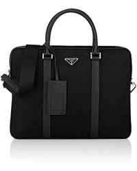 Prada - Slim Briefcase - Lyst