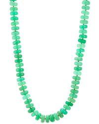 Irene Neuwirth - Chrysoprase Beaded Necklace - Lyst