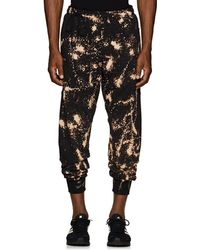 Siki Im - Bleached Cotton-blend Jogger Trousers - Lyst