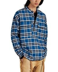 b427ff8336 Fear Of God - Blue Checked Cotton Top - Lyst