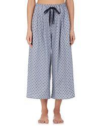 Castle & Hammock - Pinstriped Cotton Fil Coupé Pajama Pants - Lyst