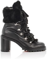 Christian Louboutin - Fanny Leather Ankle Boots - Lyst
