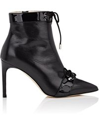 Giannico - Olivia Leather Ankle Boots - Lyst