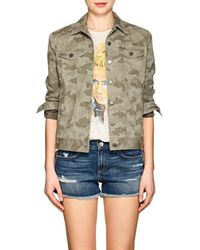 ATM | Camouflage Cotton Jacket | Lyst