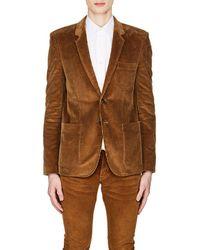 Saint Laurent - Cotton Corduroy Two-button Sportcoat - Lyst