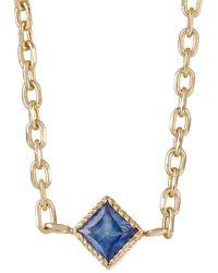 Bianca Pratt - Blue Sapphire Choker Necklace - Lyst