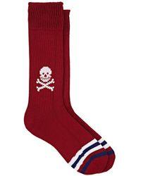 Corgi - Skull-motif Cotton Mid-calf Socks - Lyst
