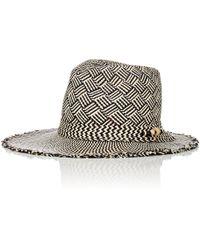 House of Lafayette - Jones Straw Panama Hat - Lyst