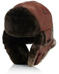 Crown Cap - Aviator Trapper Hat - Lyst