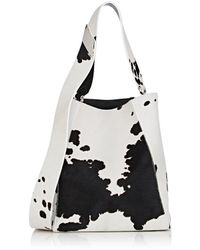 CALVIN KLEIN 205W39NYC - Cow Hair Bucket Bag - Lyst