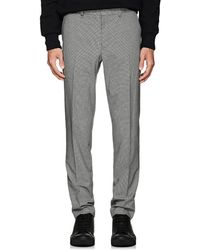 Rag & Bone - Patrick Puppytooth Wool-blend Trousers - Lyst