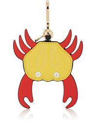Loewe - Crab Leather Key Chain - Lyst