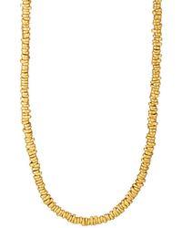 Eli Halili - Signature Gold Disk Necklace - Lyst