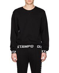 Stampd - Logo-jacquard Cotton-blend Sweatshirt - Lyst