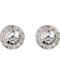 Ileana Makri - Circular Stud Earrings - Lyst