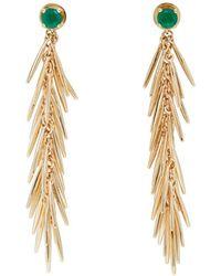 Ileana Makri - Grass Dangling Drop Earrings - Lyst
