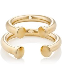 Jennifer Fisher - Pipe Ring Set - Lyst