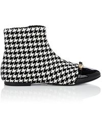 Stella Luna - Houndstooth Ankle Boots - Lyst