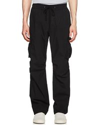 James Perse - Washed Cotton Cargo Pants - Lyst