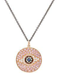 Ileana Makri - Dawn Eye Pendant Necklace - Lyst