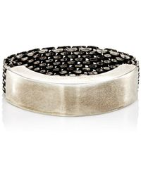 Title Of Work - Mesh To Cuff Ring - Lyst