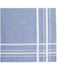 Simonnot Godard - Striped Cotton Handkerchief - Lyst