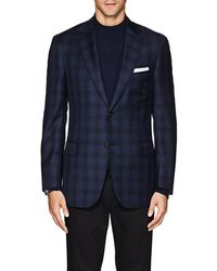Brioni - Ravello Plaid Wool Twill Two-button Sportcoat - Lyst