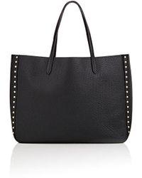 Barneys New York - Studded Tote Bag - Lyst
