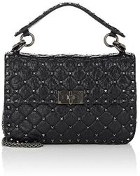 Valentino - Rockstud Medium Shoulder Bag - Lyst