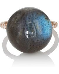 Irene Neuwirth - Labradorite Sphere Ring - Lyst