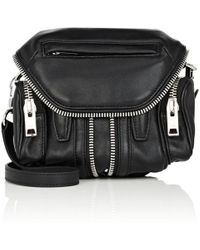 Alexander Wang - Micro Marti Leather Crossbody Bag - Lyst