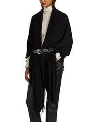 Rick Owens - Cashmere Blanket Scarf - Lyst