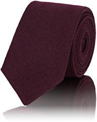 Alexander Olch - Wool Faille Necktie - Lyst