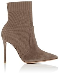 Gianvito Rossi - Katie Ankle Boots - Lyst