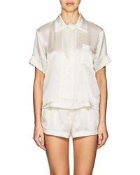 Araks - Shelby Silk Charmeuse Pajama Top - Lyst
