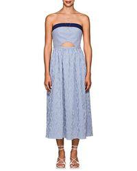 Flagpole Swim - Hollis Striped Seersucker Dress - Lyst