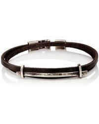 Zadeh - Double-wrap Bracelet - Lyst