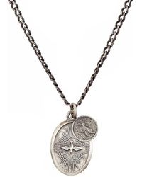 Miansai - Dove Pendant Necklace - Lyst