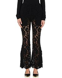 Proenza Schouler | Corded Lace Flared Trousers | Lyst