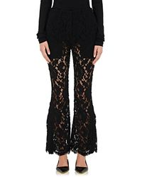 Proenza Schouler - Corded Lace Flared Trousers - Lyst