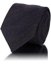 Barneys New York - Tonal-striped Mixed-stitch Wool-silk Necktie - Lyst