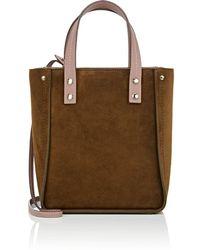 Fontana Milano 1915 - Tum Tum Lady Suede & Leather Tote Bag - Lyst