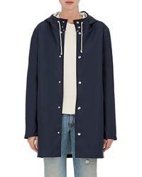 Stutterheim - Stockholm Coated-tech-fabric Raincoat - Lyst