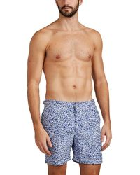 Orlebar Brown - Bulldog Mazanine-print Swim Trunks - Lyst