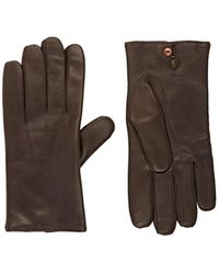 Barneys New York - Leather Gloves - Lyst