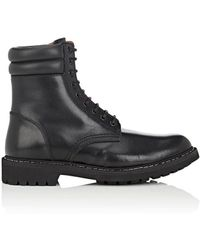 Givenchy - Leather Combat Boots - Lyst