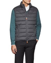 Save The Duck - Channel-quilted Tech-fabric Vest - Lyst
