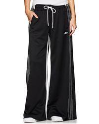 Alexander Wang - Jersey Wide-leg Drawstring Pants - Lyst